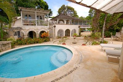Landfall at Sandy Lane, Barbados - Beachfront, Pool, Tropical Greenery And Bubbling Fountain - Image 1 - Sandy Lane - rentals