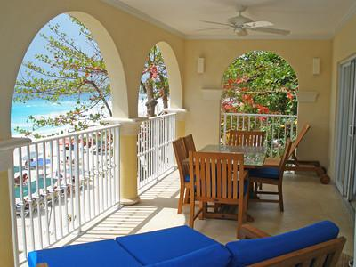 Sapphire Beach 201 at Dover Beach, Barbados - Beachfront, Gated Community,Pool - Image 1 - Christ Church - rentals