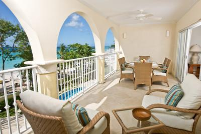 Sapphire Beach 205 at Dover Beach, Barbados - Beachfront, Gated Community, Pool - Image 1 - Christ Church - rentals