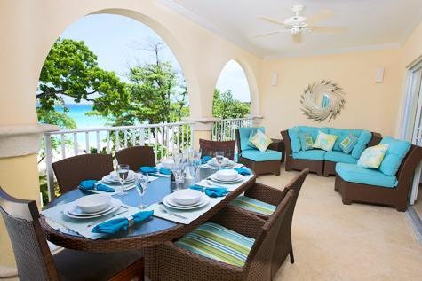 Sapphire Beach 211 at Dover Beach, Barbados - Beachfront, Gated Community, Pool - Image 1 - Christ Church - rentals