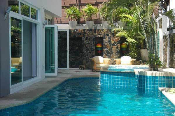 Private Pool With Jacuzzi area - Jomtien Pool Villa - Pattaya - rentals