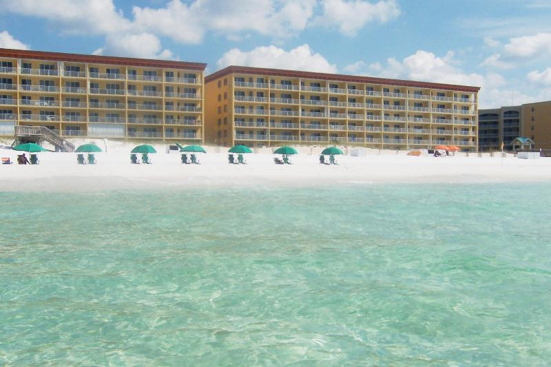 Gulf Dunes 114, From Gulf - gd114, Gulf Dunes, Sleeps 6, 2nd Floor Beach View - Fort Walton Beach - rentals