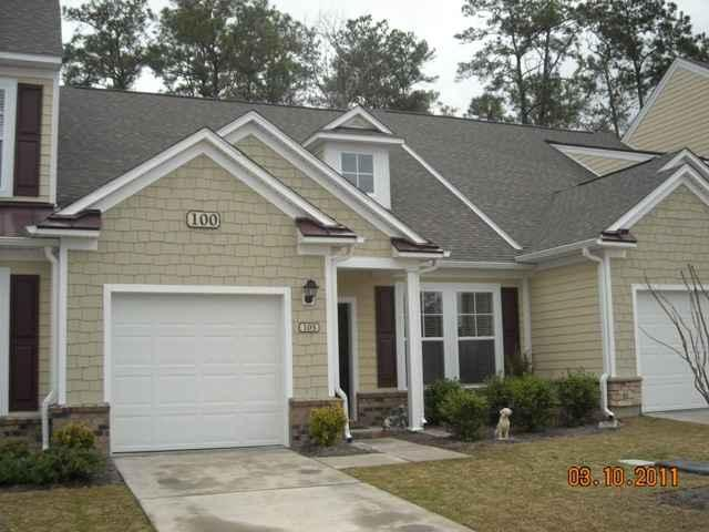 Exterior of Townhome In Coldstream Cove-Across Street from TPC Golf! - IMMACULATE, AFFORDABLE MURRELLS INLET VACATION!!! - Murrells Inlet - rentals