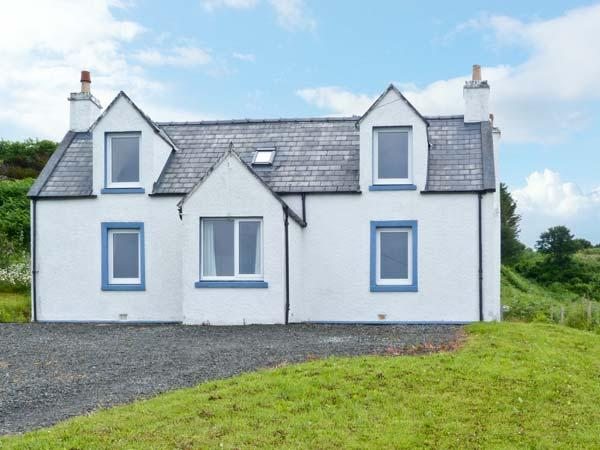BAYVIEW HOUSE, wonderful house, sea views from all rooms, open fire in Carbost Ref 18108 - Image 1 - Carbost - rentals