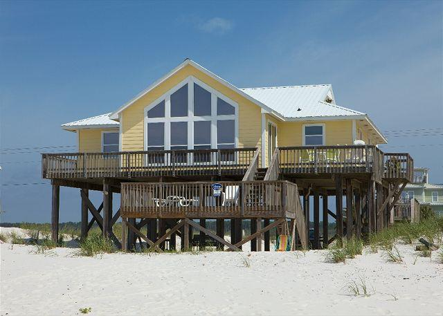 House View From Beach - Here to Dream - October*November*December*January - Perfect Time of Year - Gulf Shores - rentals