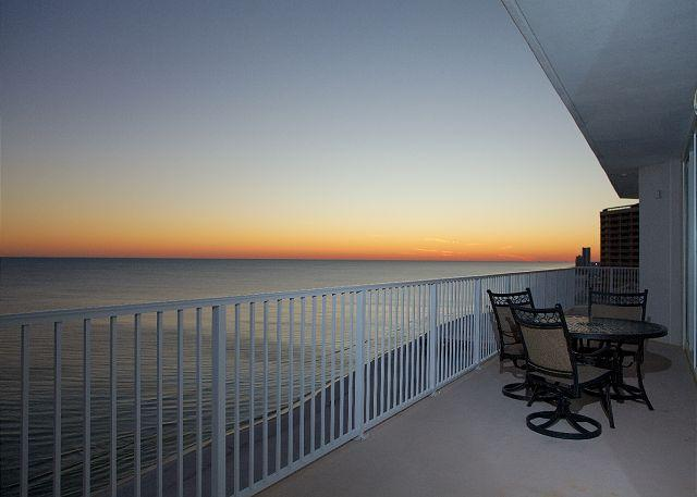 Weast Balcony View - Lighthouse 1418 - Perfect Views - Great Fall 2015 Deals - Gulf Shores - rentals