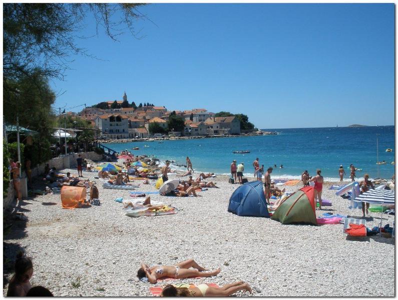 Beach - 1 bedroom condo (A3+1) next to the beach - Primosten - rentals