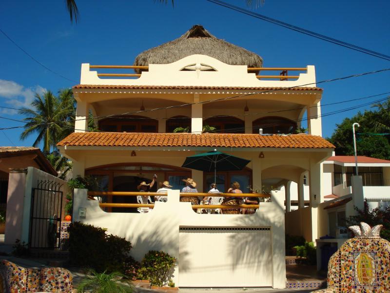 Casa de la Reyna Bucerias - Casa de la Reyna Bucerias Mexico Oceanfront Rental - Bucerias - rentals
