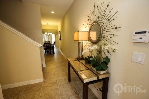 Welcoming entrance - Beautiful Paradise Palms Villa with Sauna and Pool - Kissimmee - rentals