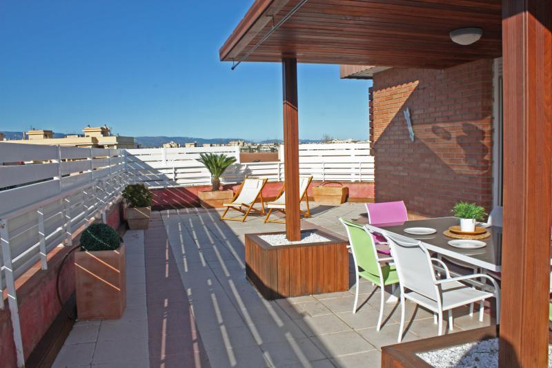 Terrace-Porch - Top floor apartment with terrace+air conditioning - Salou - rentals