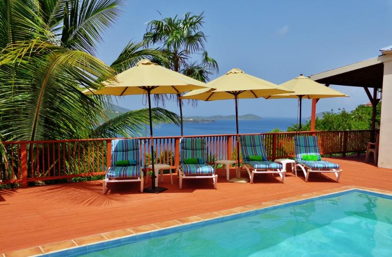 So peaceful and relaxing. - Beautiful Villa: Magen's Bay, POOL, Stunning Views - Magens Bay - rentals