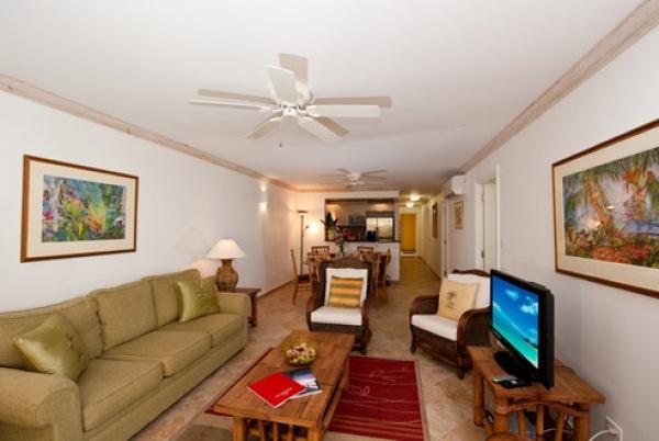 Cozy living area - Terraces 101 - Christ Church - rentals