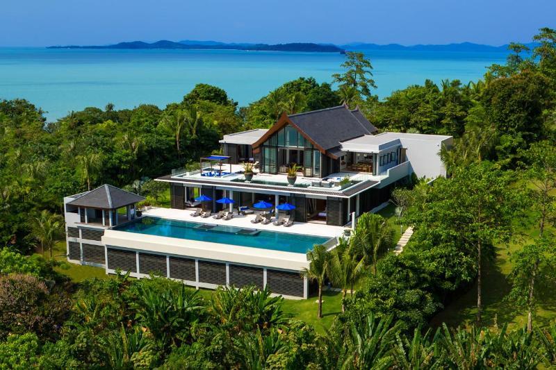 Villa Padma -  Pool Villa with Sea  & Sunset View - Image 1 - Thalang - rentals