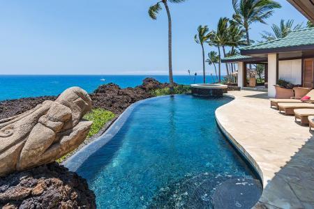 Gated Oceanfront Villa Kahi O Ko'aniani with Infinity Pool - 5 Minutes to Golf - Image 1 - Mauna Lani - rentals