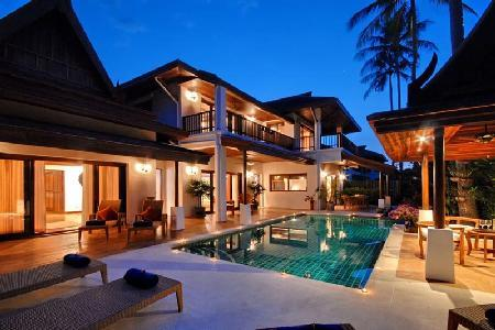 Baan Banburee Villa is a tropical paradise, fully staffed with pool & roof terrace - Image 1 - Koh Samui - rentals
