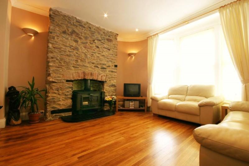 Lounge - 3 Bedroom Apartment in centre of Dartmouth, Devon - Dartmouth - rentals