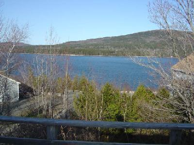 View of Somes Sound - Blueberry Patch 2 bedroom center Mt. Desert Island - Mount Desert - rentals