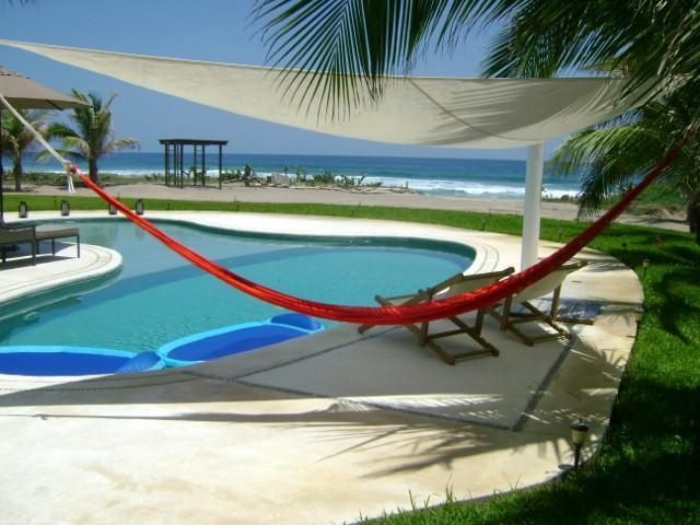 Hammock - Casa Colibri Affordable Beach Front Villa - Puerto Escondido - rentals