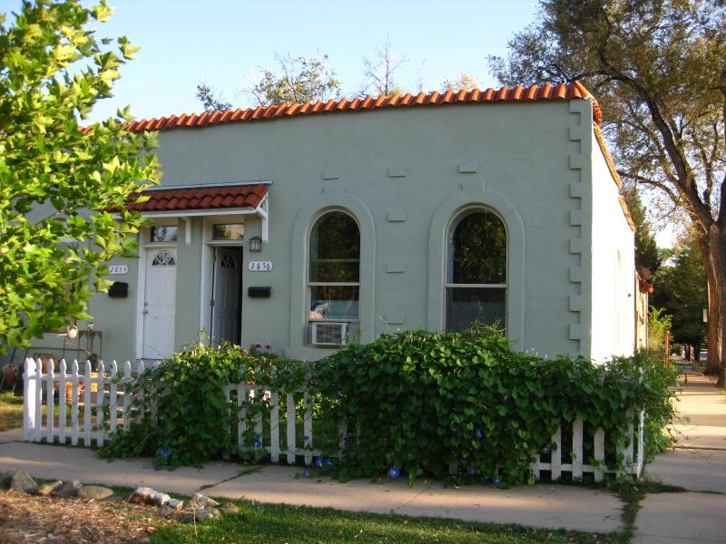 Outside view of the 1890's adobe duplex - Convenient Location, Close to Downtown! - Denver - rentals