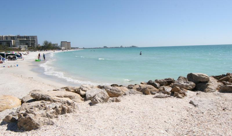 Beautiful Lido Beach, just a half block down our quiet residential street - Beautiful, Renovated Lido Key Rentals (1 & 2 beds) - Sarasota - rentals