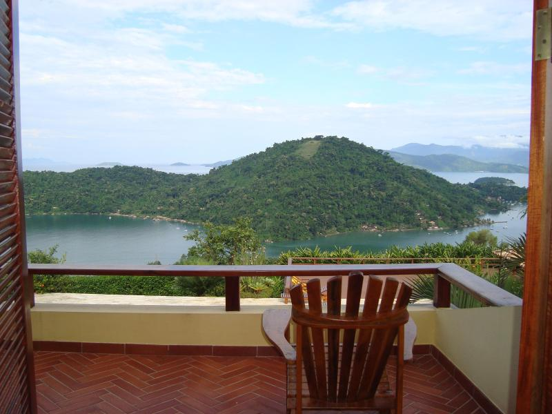 view from rooms - 4 bedroom house in Paraty with marvelous view - Paraty - rentals