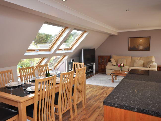 Lounge / dining area with sea views - LUNDY - Holy Island Of Lindisfarne - rentals