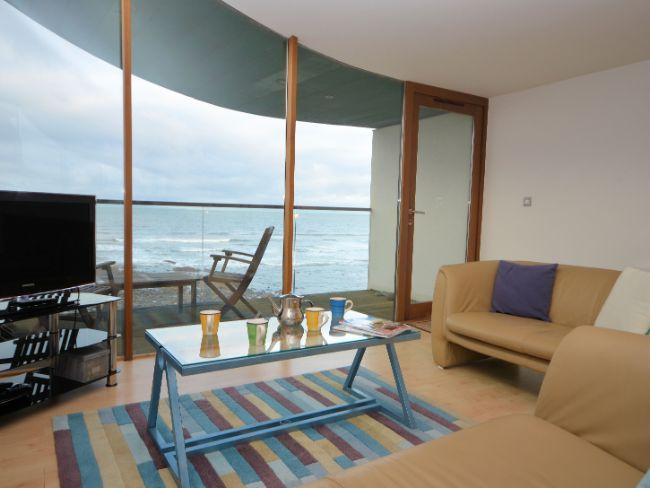 Sea and beach views from the lounge - NBEAC - Westward Ho - rentals