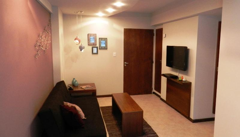 Living Room - 1 Bedroom apartment, Excellent location Bariloche! - San Carlos de Bariloche - rentals
