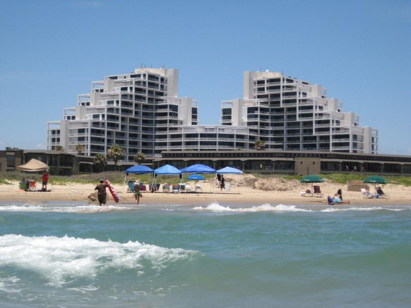 Sunchase IV Resort Complex from the Gulf - Comfortable, Convenient, Economical & on the Beach - South Padre Island - rentals