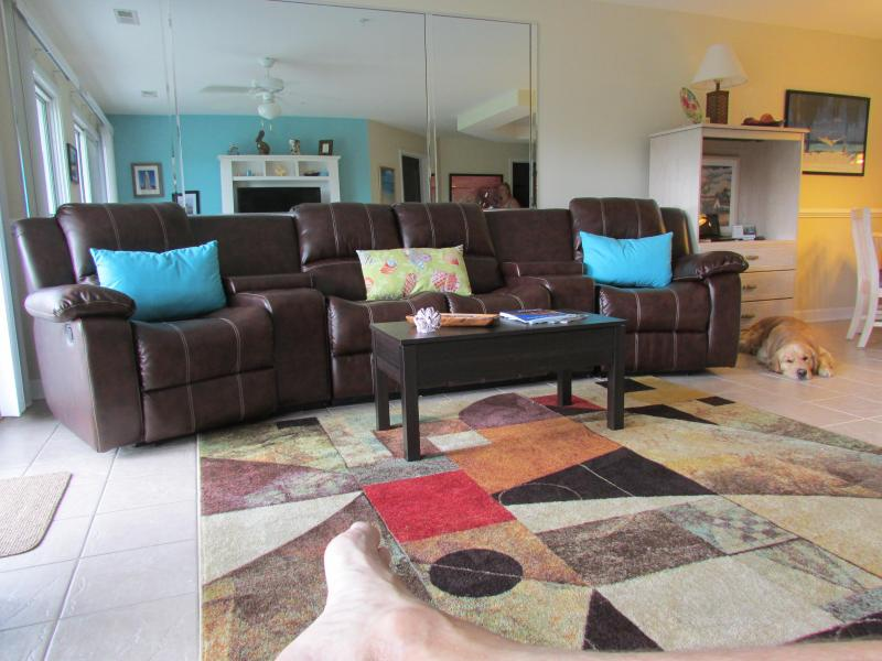 Living Room area - BEST OF THE BEST in Calabash, NC and PET FRIENDLY - Calabash - rentals