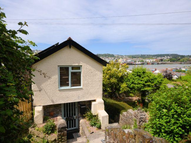 View of the cottage and estuary - SPRIN - Bideford - rentals