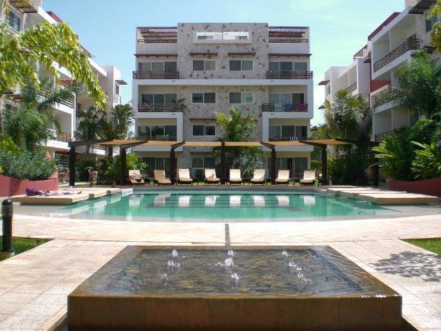 Pool view - Summer offer!!! Fun - Fabulous Boutique Condo! - Playa del Carmen - rentals