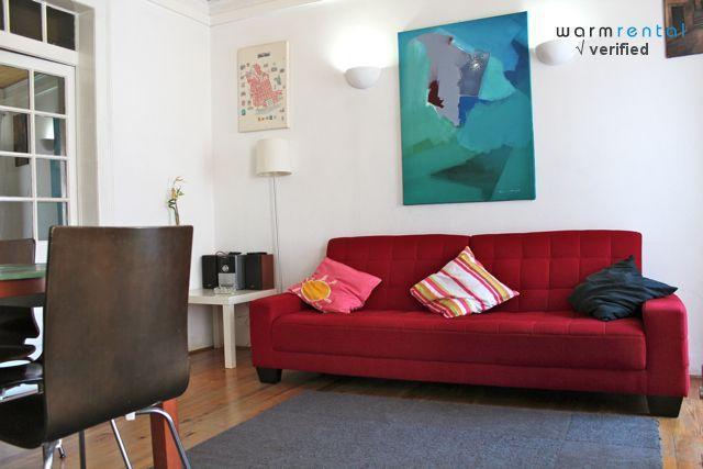 Living Room  - Green Pepper Apartment - Lisbon - rentals