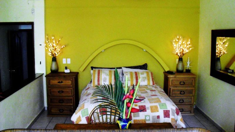 Condo #2 - Bedroom area - Condo #2 at Casa Arbol de Limon in Zona Romantica (Old Town) - Puerto Vallarta - rentals