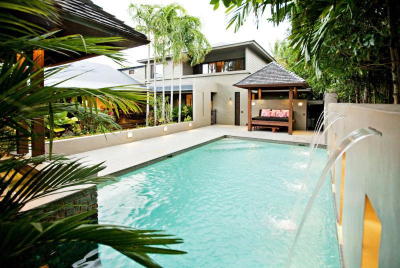 Heated swimming pool & cabana - Meryula Port Douglas - Port Douglas - rentals