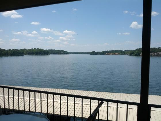 Balcony View - Lake Front Luxury New Kitchen 10 Steps to Lake - Hot Springs - rentals