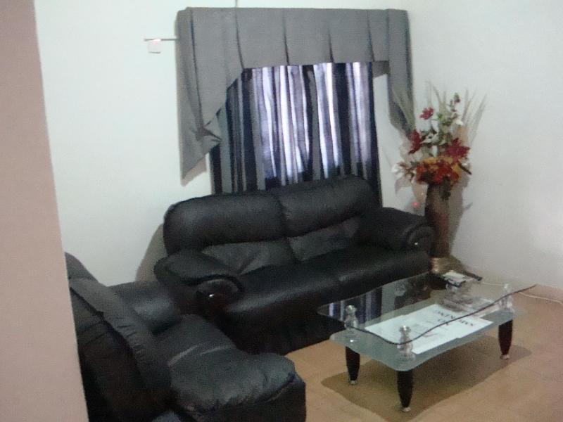 Sitting Area - T.N. Home Lodge 1-BRM City Holiday Apt-Upstairs - Accra - rentals
