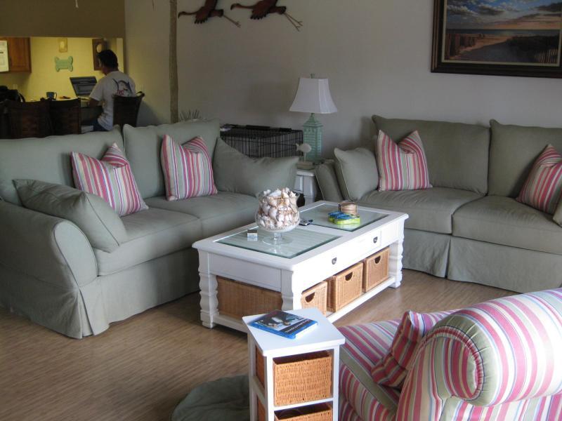 living room - Siesta Key Crescent Beach - Sarasota - rentals