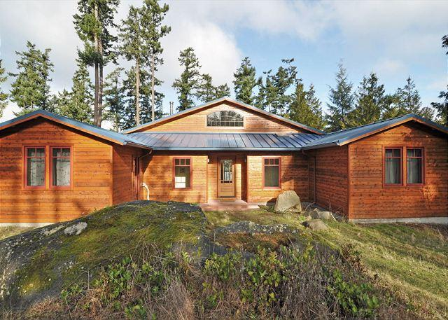 This brand new home is a NW classic. - Raven Rock on Lopez Island - Lopez Island - rentals