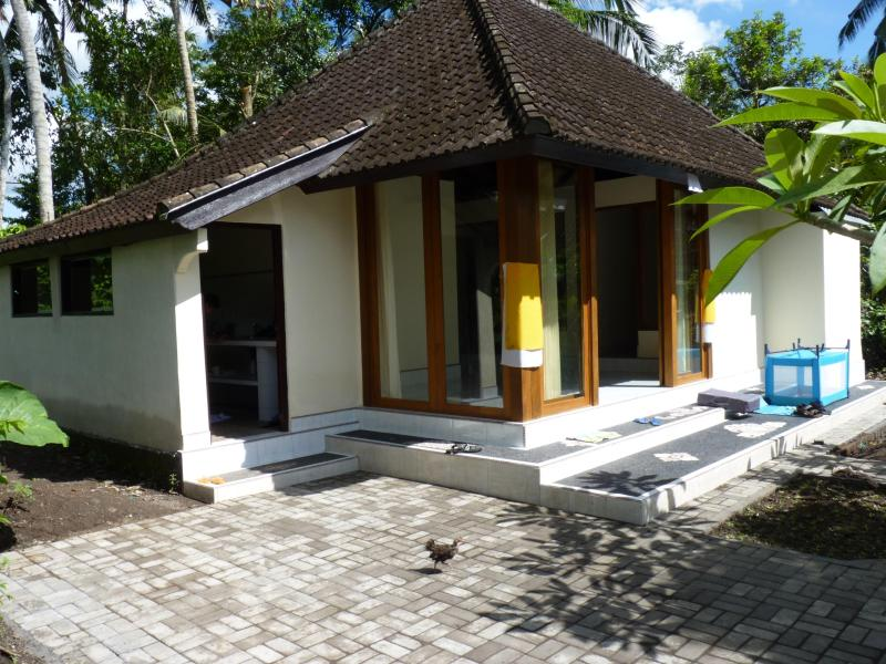 House from the outside - Rumah Cicak Experience Bali near Ubud - Ubud - rentals