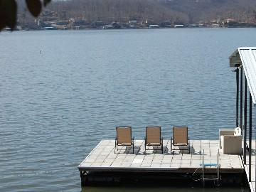 Take in some sun on the swim dock. - Island 1 & 2 - Lake Ozark - rentals