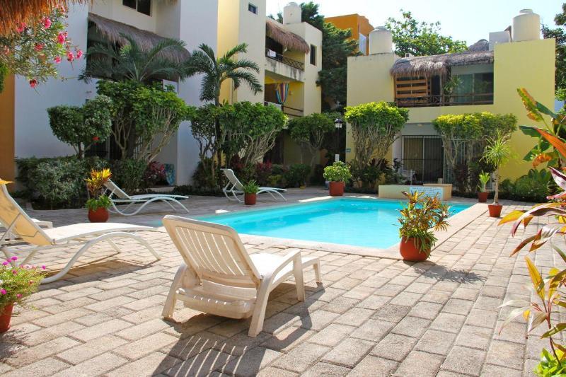 pool - CANADIAN OWNED VACATION HOME, Playa del Carmen - Playa del Carmen - rentals