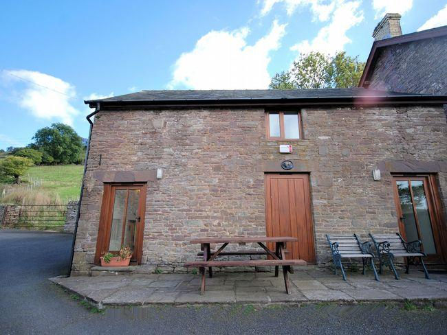 View towards the cottage - MAWRD - Cwmdu - rentals