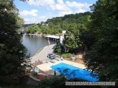 Beautiful view of the pool and lake - 7th Night FREE & NO CLEANING FEE Lake Townhome - Linn Creek - rentals