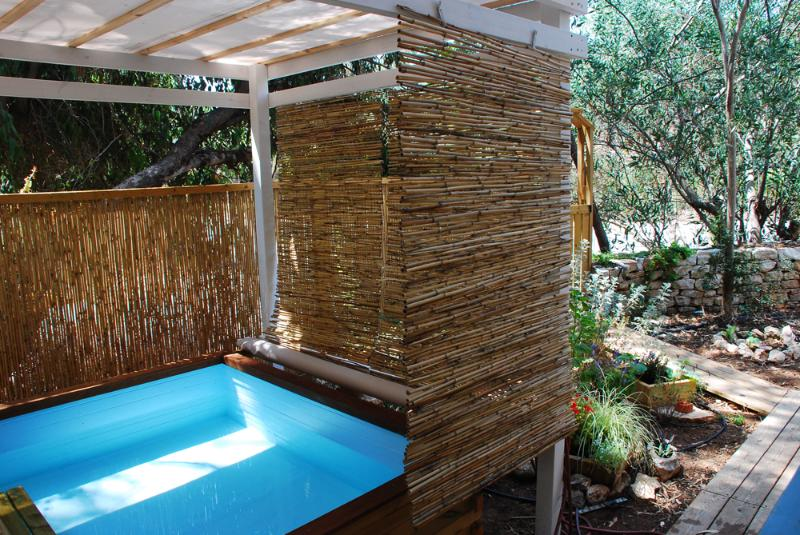 new! personal sitting pool - Green Heart , eco vacation in nature, mid Israel - Srigim - rentals