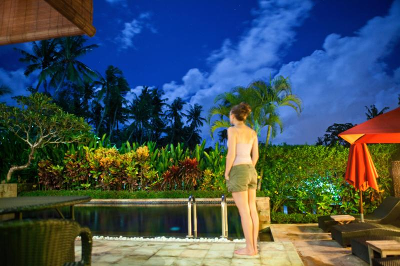 Looking out over your private infinity pool - Villa Karvaka - Bali - rentals