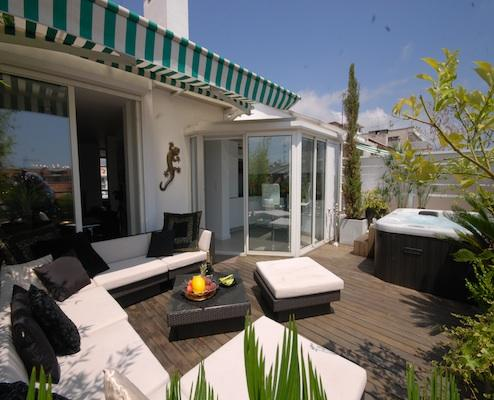 Azur Fleurs- Luxury Nice 2 Bedroom Apartment with Hot Tub - Image 1 - Nice - rentals