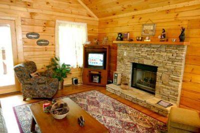 Living Room - Always & Forever - Gatlinburg - rentals