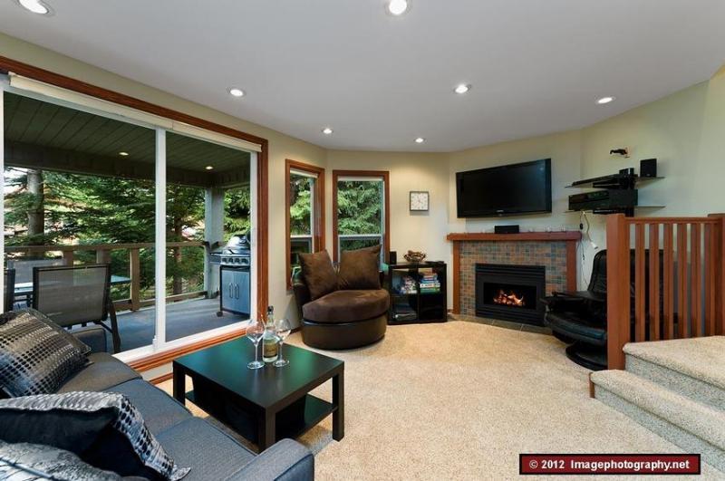 Living room - Whistler Mountain Condo - Whistler - rentals