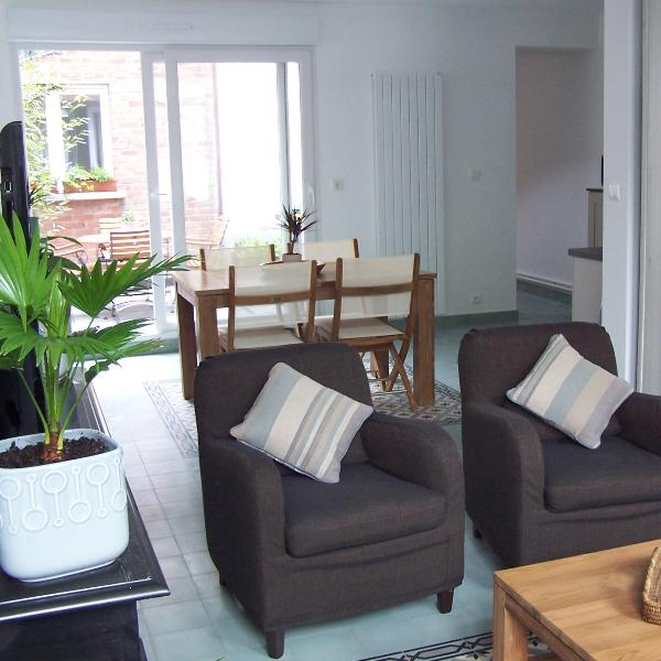 living-room - Gite Mosaique - 3 bedroom cottage in Arras (Fr) - Arras - rentals
